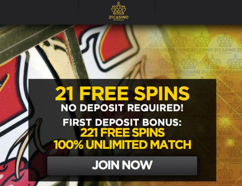 No Deposit Bonus 21 Casino Get 21 Pounds And 21 Freespins